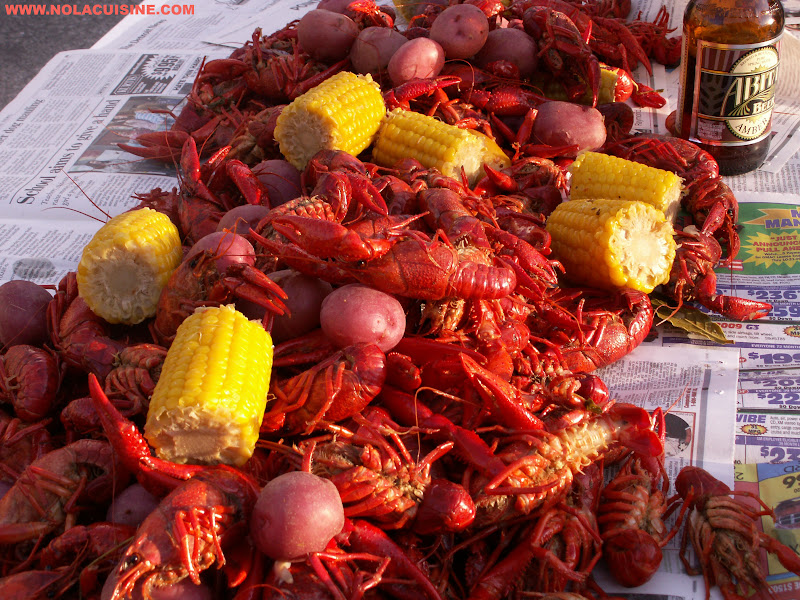 from crawfish boil from crawfish boil