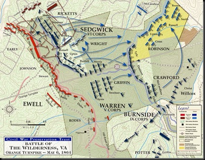 Battle of the Wilderness-May 5, 1864