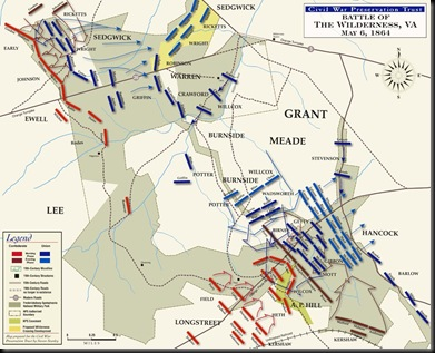 Battle of the Wilderness-May 6, 1864