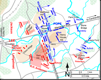 The final stand at Henry House Hill-August 30, 1862