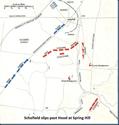 Spring Hill Map