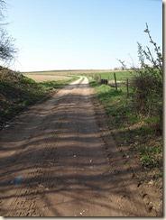 Hier wordt binnenkort een ruilverkavelingsweg aangelegd