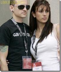 Chester Bennington y su esposa Talinda linkinsoldiers 20