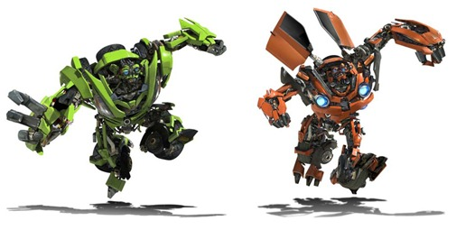 mellizos de transformers