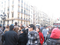 Tourists @ La Rambla
