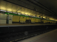 Metro Station @ Barcelona