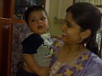 Deval with Roshan