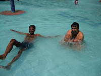 Shailesh & Jaldip Enjoy The Water