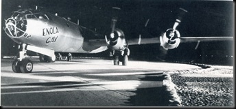Enola Gay Takes Off