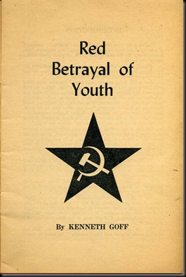 Red Betrayal of Youth-Cvr