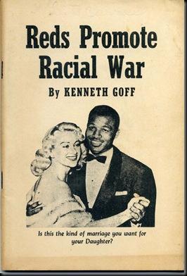Red Promote Racial War-Cvr