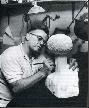 Robert Lewis had been sculpting for a time before he sold his Enola Gay ...