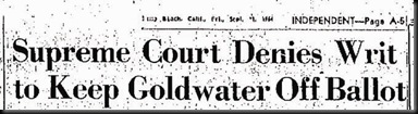 Goldwater Suit Rejected copy