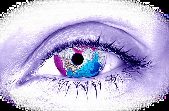 De olhos no mundo e na vida...