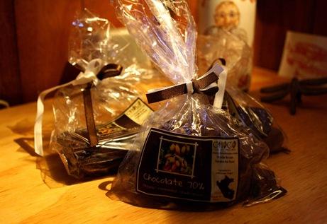 chocolatitos en bolsa