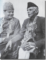 Quaid-e-Aazm with Qazi Isa