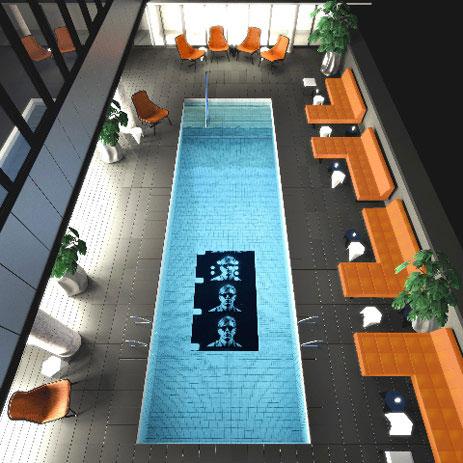 Thompson LES Hotel Pool Lounge