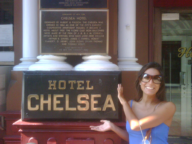 Cristina @ Chelsea Hotel