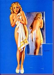 Classic Pin-Ups #1 - Seite 44 - Gil Elvgren - Double Exposure (1942)