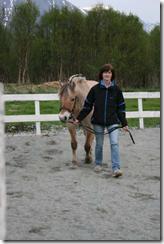 Mamma og Lea, april 09