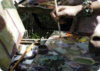 Тверских художников восточная палитра