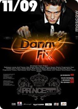 11 сентября - Danny Fix в Prince Club