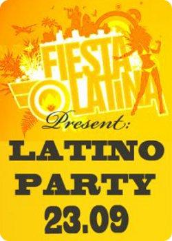 23 сентября - Latino Party