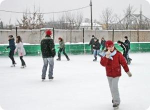 Открытие ледового сезона на стадионе «Химик»
