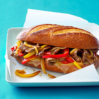 Western Cheesesteak Sandwich
