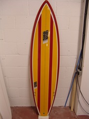 Will's NS Surfboard - the deck