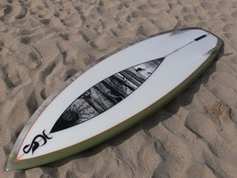 Tim Stafford Custom Surfboards - 6'8 Blunt Diamond for Olly