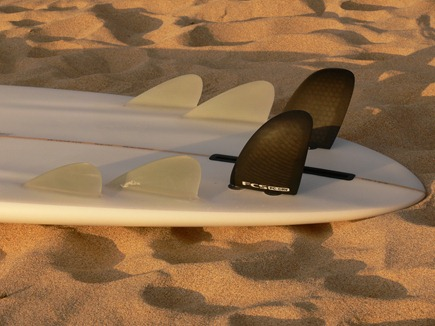 EVO6 bonzer with CRV sides - Tim Stafford Custom Surfboards, Cornwall