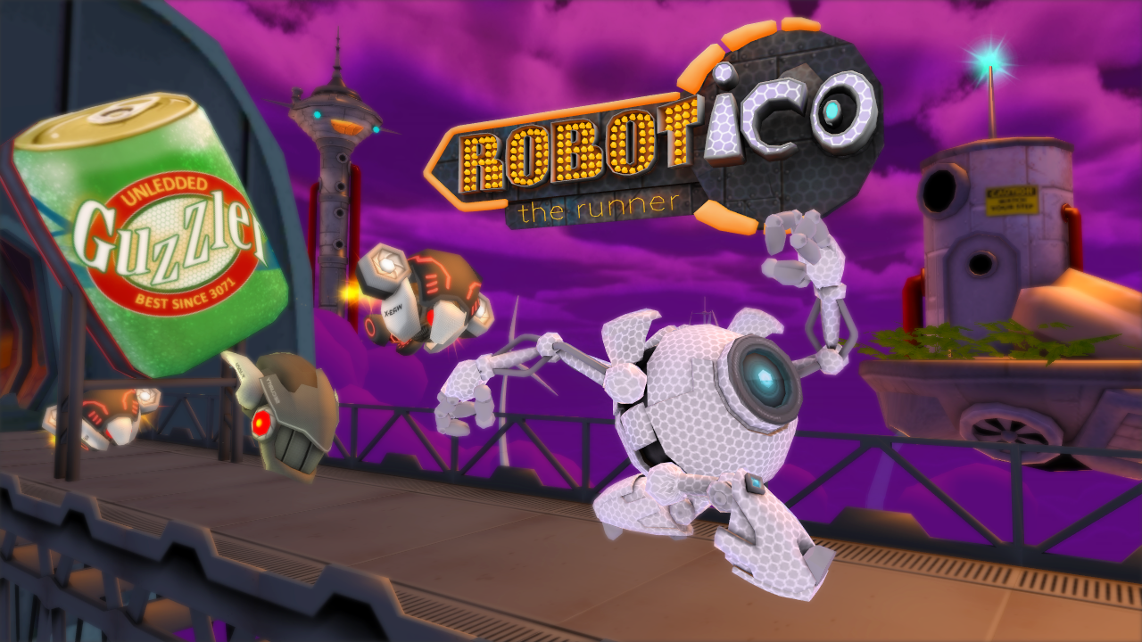 Robot Ico: Robot Run and Jump Screenshot 0