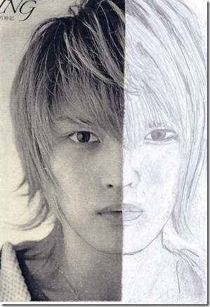 Jaejoong Drawing