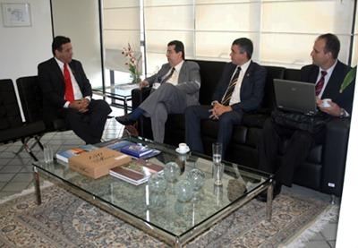 visita presidente TRT 7 Regio (2