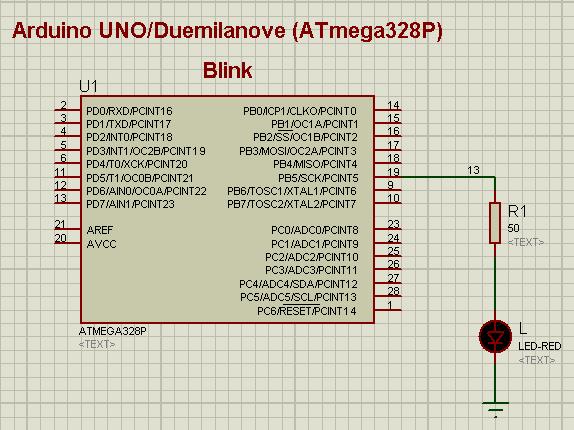 Cooper maa arduino 的簡易模擬,使用 proteus