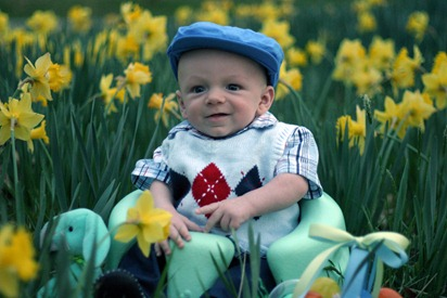 Calvin's First Easter - for blog 19