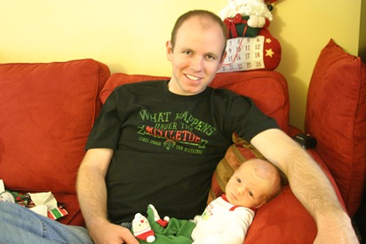 First Christmas 005