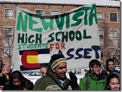 new vista high school students for assett