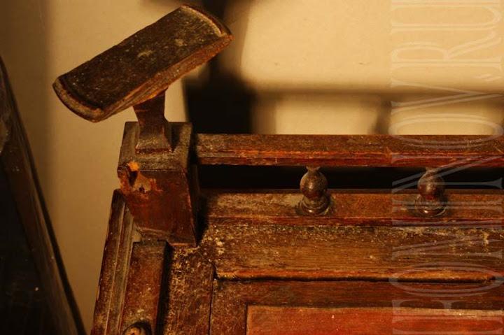 Утраты стола до реставрации