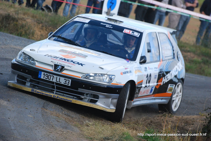 Yohan DUPOUY / Bruno CAMPANER  - 306 S16 F2/14 Rallye%20du%20Pays%20de%20Saint-Yrieix%202010%20093