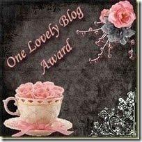 awardonelovelyblog