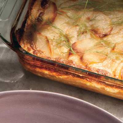 Scalloped Potatoes and Fennel
