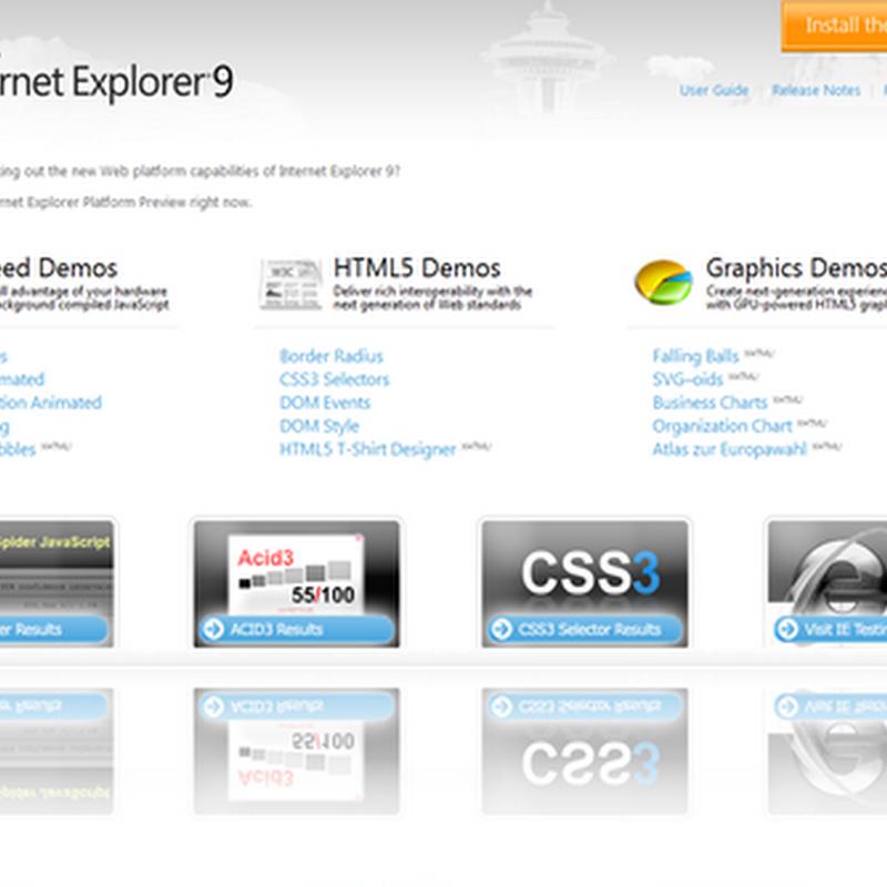 Disponible la descarga de Internet Explorer 9 alpha 1