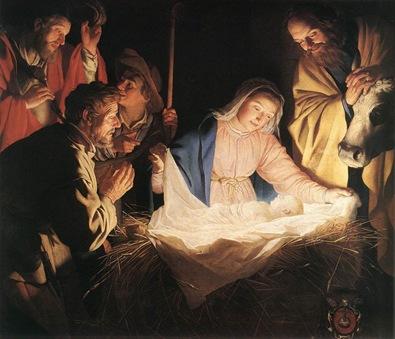 HONTHORST_Gerrit_van_Adoration_Of_The_Shepherds