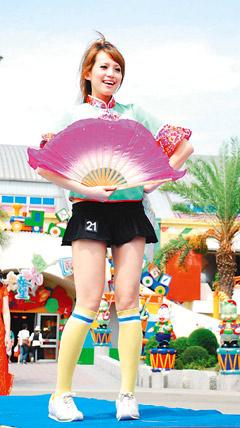 劍湖山藝陣文化美少女