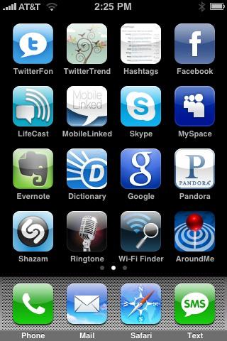 Colin's Major Apps