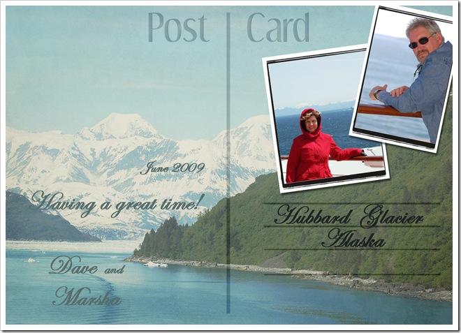 postcard copy