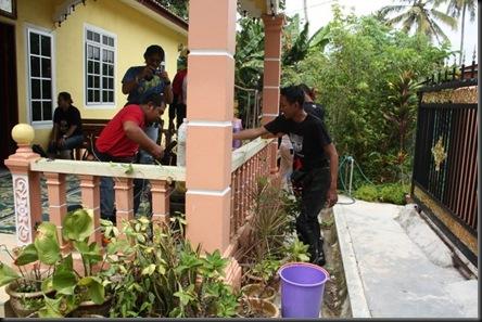 Simpang Pelangai makan durian11