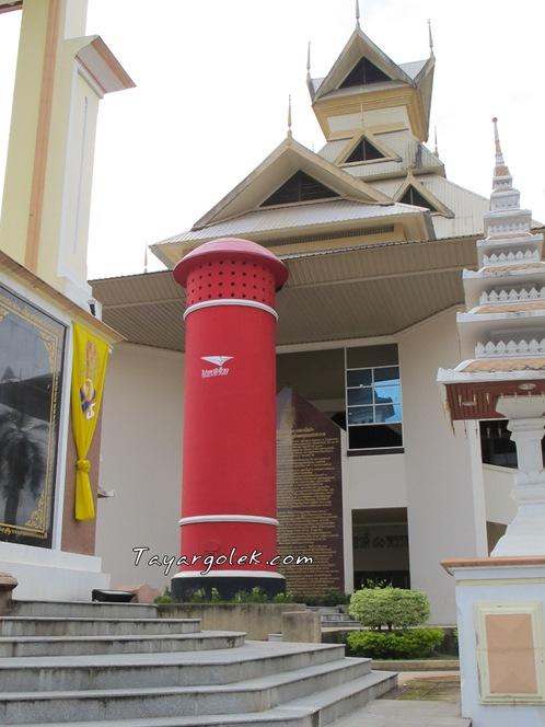 The Tallest Post Box in Thailand